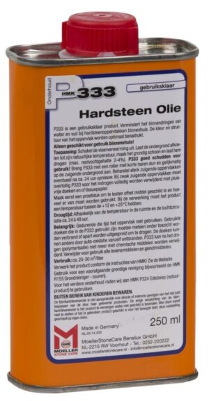 HMK P333 Hardsteen olie 250ML